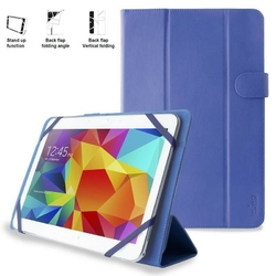 PURO Universal Booklet Easy etui tablet 10.1 blue