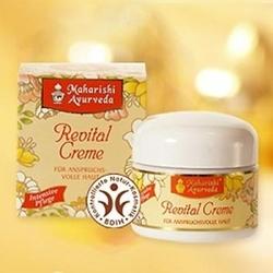 Organiczny krem do pielęgnacji twarzy rewitalizujący, 75 ml maharishi ayurveda