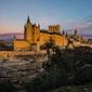 Segowia, hiszpania - plakat premium wymiar do wyboru: 59,4x42 cm