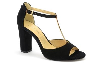 Sandały uncome 24089 czarny
