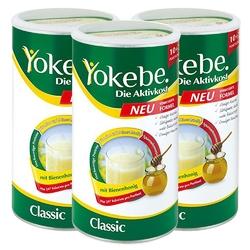 Yokebe classic koktajl na odchudzanie w proszku 3x480g