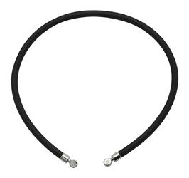 naszyjnik magnetyczny czarny 2771-1 z kauczuku