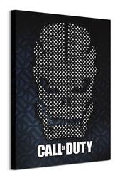 Call of duty scale armor skull - obraz na płótnie