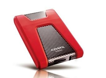 Adata DashDrive Durable HD650 1TB 2.5 USB3.0 Red