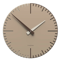 Zegar ścienny do kawiarni exacto 36 cm calleadesign caffelatte 10-025-14
