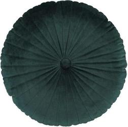 Poduszka naina ciemnozielona