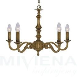 Malaga lampa wisząca 5 antyczny brąz