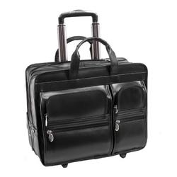 Elegancka skórzana torba podróżna