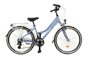 Rower ctb 26 r-land itaka rama aluminiowy niebieski mat