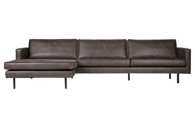 Be pure sofa narożna lewostronna rodeo czarna 800905-z