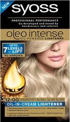 Syoss, oleo, farba do włosów, 12-0 srebrzysty blond