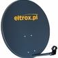 Czasza antena satelitarna 80 cm grafitowa z logiem eltrox.pl - szybka dostawa lub możliwość odbioru w 39 miastach
