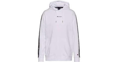 Champion hooded sweatshirt 214225-ww001 l biały