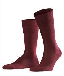 Eleganckie bordowe bawełniane skarpety falke tiago rozmiar 39-40
