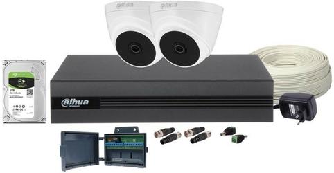 Zestaw monitoringu dahua cooper 2 kamery - szybka dostawa lub możliwość odbioru w 39 miastach
