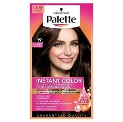 Palette instant color, szampon koloryzujący w saszetce, 19 ciemny brąz