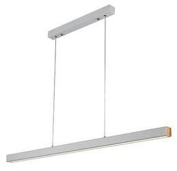 Biała lampa jadalniana led 3k linea no 4 120 cm