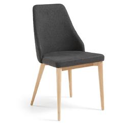 Krzesło Vela ciemnoszare