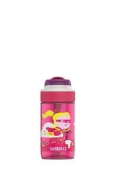 Butelka dla dziecka kambukka lagoon 400 ml - super dziewczynka - różowy