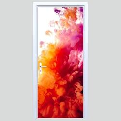 Naklejka na drzwi abstrakcja 264s