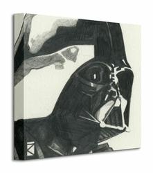 Star Wars Darth Vader Sketch - Obraz na płótnie