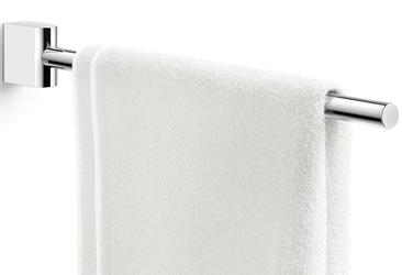 Długi wieszak  reling na ręcznik łazienkowy atore zack polerowany 40465