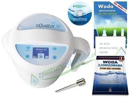 Jonizator wody aquator silver plus poj. 3 l, najnowszy model z elektrodą srebrną + 4 gratisy  oferta promocyjna