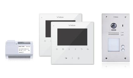 Wideodomofon 2-rodzinny VIDOS DUO 2 x M1022W  S1202A - Szybka dostawa lub możliwość odbioru w 39 miastach
