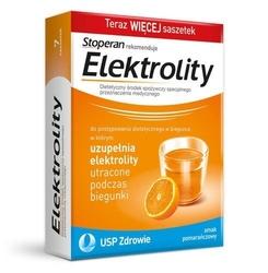 Elektrolity x 7 saszetek smak pomarańczowy