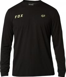 Fox koszulka z długim rękawem starter tech black