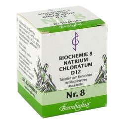 Biochemie 8 natrium chloratum d 12 tabl.