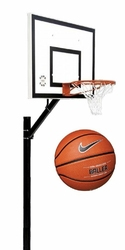 Zestaw do koszykówki 502 Sure Shot Home Court + Piłka do koszykówki Nike Baller 8P