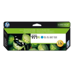 HP oryginalny ink CN626AE, cyan, 6600s, No.971XL, HP Officejet Pro X451dn, X451dw, X476dn MFP, X476dw