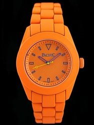 Pomarańczowy Zegarek meski PACIFIC VIBE - orange zy529d