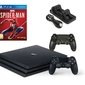 Konsola Sony PS4 Pro 1TB + 2 Pady + Marvels Spider-Man + Ładowarka