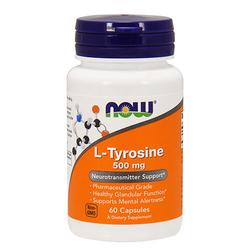 NOW L-Tyrosine - 60caps