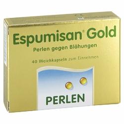 Espumisan Gold perełki przeciw wzdęciom