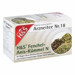 Hs Fenchel-anis-kümmel N Filterbeutel