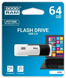 GOODRAM COLOUR BLACKWHITE 64GB USB2.0