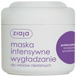 Ziaja Intensywna Odbudowa, Proteiny Jedwabiu, maska do włosów, 200ml