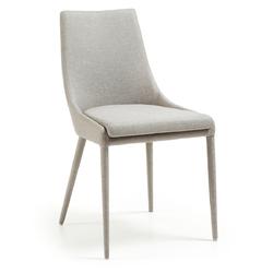 Krzesło Aries jasnoszare - jasno szary
