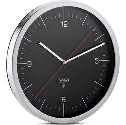 Zegar ścienny sterowany radiowo Blomus Crono czarny B65437
