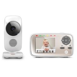 Motorola MBP667 Connect Niania Elektroniczna video sterowana smartfonem + Uchwyt Star Grip