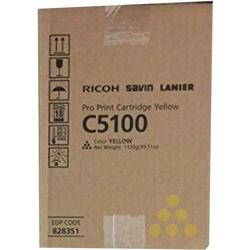 Toner Oryginalny Ricoh C5100 828226, 828403 Żółty - DARMOWA DOSTAWA w 24h