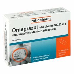 Omeprazol ratiopharm Sk 20mg Hartk.mag.s.r.