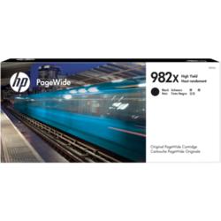 Oryginalny czarny wkład atramentowy HP 982X PageWide o dużej pojemności