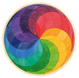 Tęczowa spirala w kole, 3+, Grimms