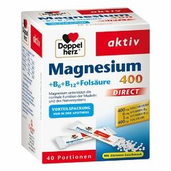 Doppelherz Magnesium+b Vitamine Direct w granulkach