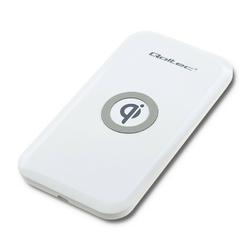 Qoltec Ładowarka indukcyjna | Qualcomm Quick Charge 3.0 | 10W | biała