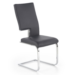 Krzesło Kaspian ekoskóra czarne